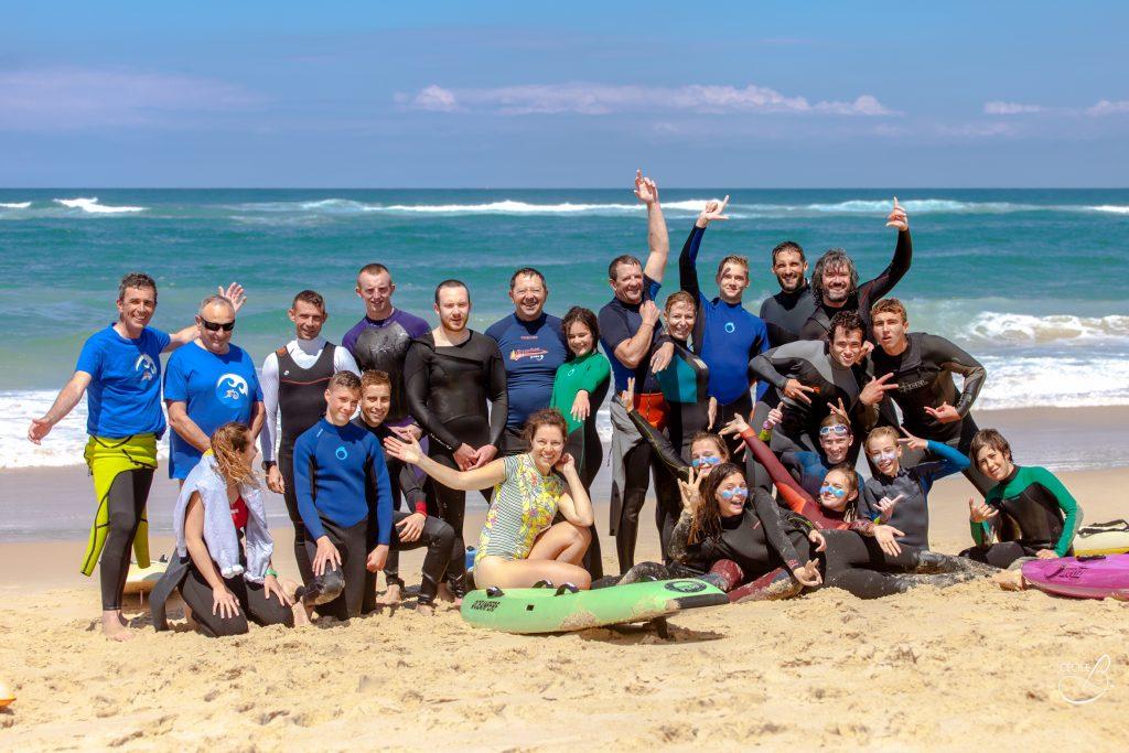 L'équipe club arcachon sauvetage cotier